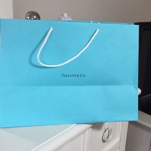 Tiffany bag blue color